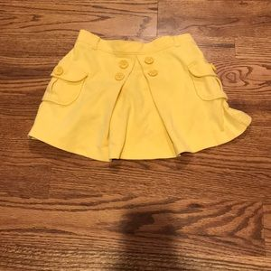 Gymboree Skirt with Attached Shorts, Size 6